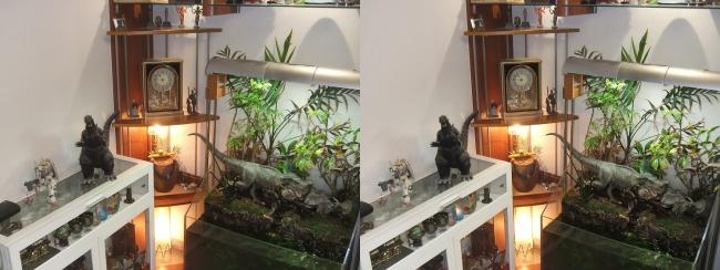 リビングルーム MOTOs MUSEUM③(平行法)