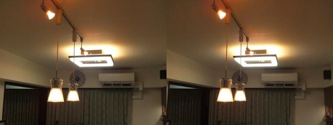 リビングルーム 照明⑤(交差法)