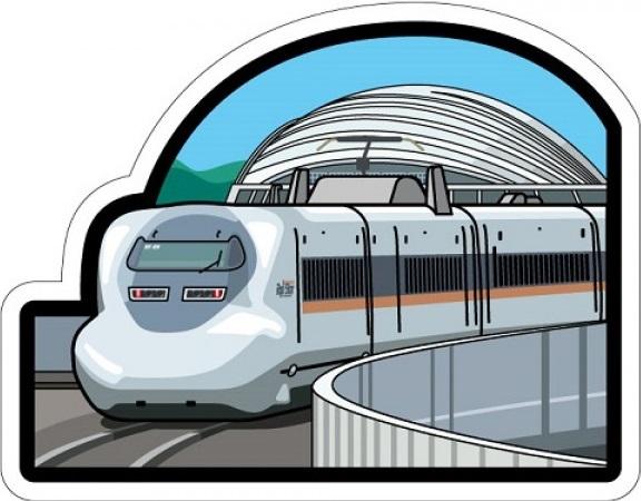 新幹線700系「ひかりレールスター」フォルムカード