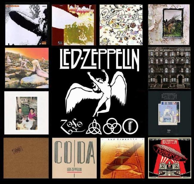 Led Zepplin album