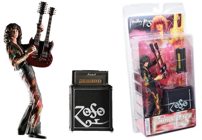 Jimmy Page Led Zeppelin Zoso Neca Coleccionable Envio Gratis
