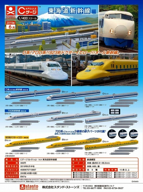 CゲージコレクションVol.4 東海道新幹線①