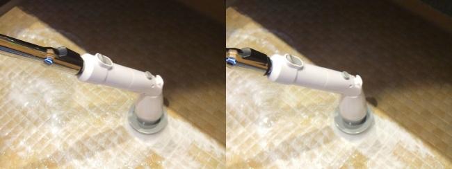 バスルーム ElleSye バスポリッシャー 電動お掃除ブラシ①(平行法)
