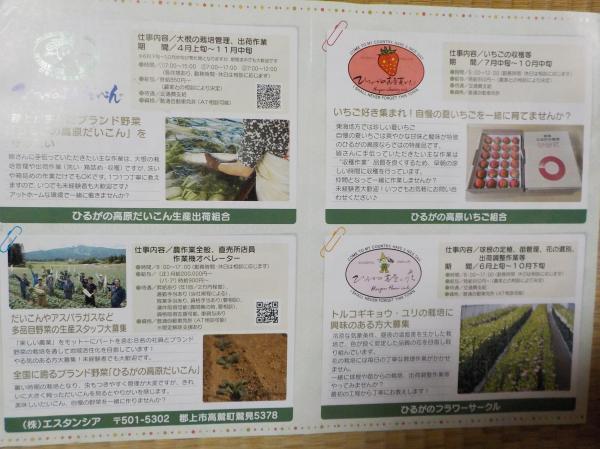 JAめぐみの広告2
