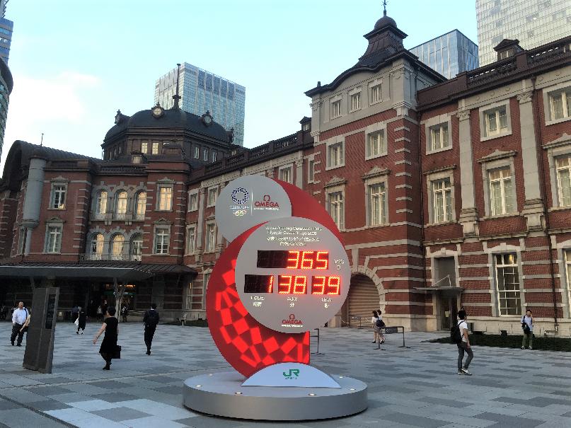 東京駅オリンピック (2)