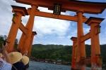 宮島・ろかい舟08