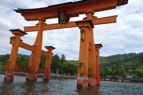 宮島・ろかい舟16