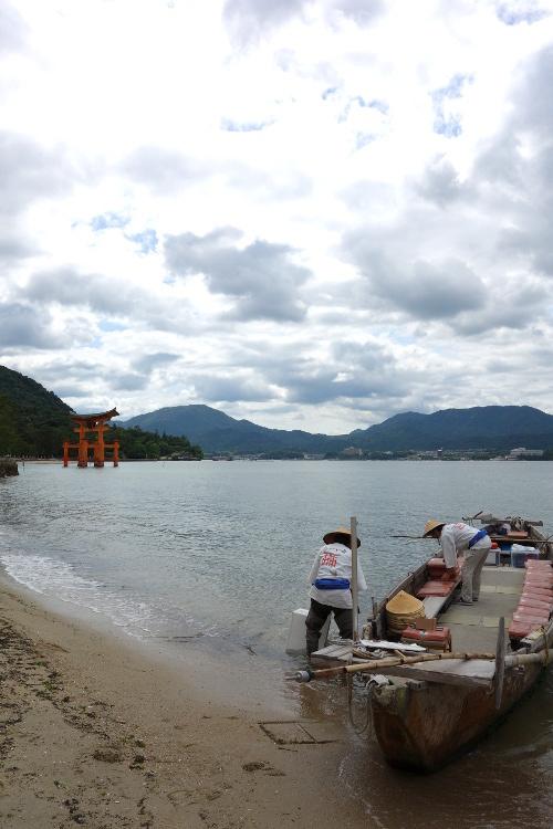 宮島・ろかい舟17