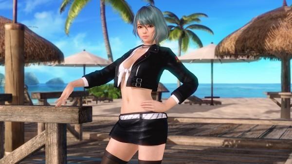 基本プレイ無料の美少女スポーツオンラインゲーム、DEAD OR ALIVE XVV、なぎさ、たまきの新SSR水着「ワイルドウインド」が登場したよ