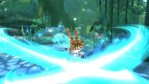 基本プレイ無料のアニメチックファンタジーオンラインゲーム、幻想神域、ダンジョン「幻神奇譚」に白虎が登場したよ