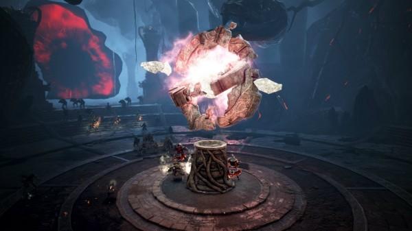 基本プレイ無料のノンターゲティングアクションRPG黒い砂漠、タワーディフェンス型のコンテンツ「血の祭壇」を実装したよ