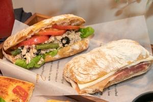 チャバッタ サンドイッチ