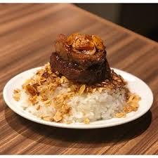 牛ヒレ肉のガリバタステーキ