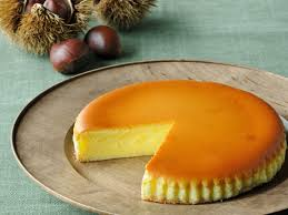 栗チーズケーキ