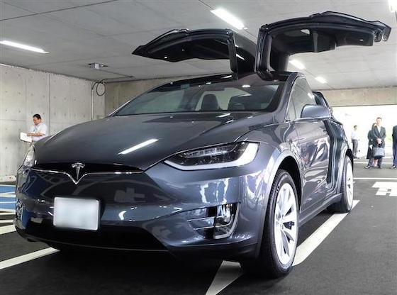 村越祐民 市川市 テスラ 公用車 電気自動車 モデルX モデルS