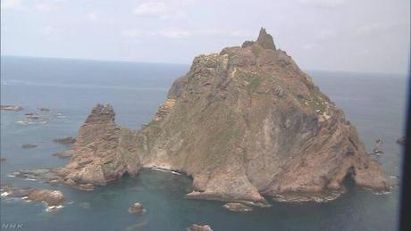 竹島 島根 韓国 ロシア 中国 領空侵犯 警告射撃