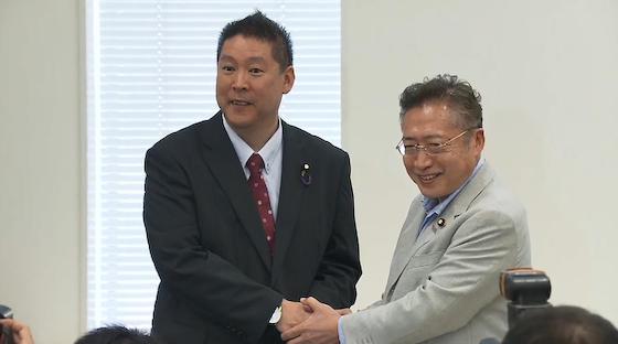NHK 立花孝志 NHKから国民を守る党 N国 NHKをぶっ壊す 受信料 スクランブル 放送法