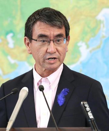河野太郎 防衛打陣 安倍首相 内閣改造 茂木敏充 小野寺五典