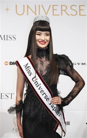 ミス・ユニバース 加茂あこ 日本代表