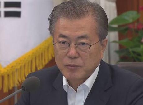 韓国・文在寅大統領、日本による対韓輸出優遇取り消し後の初めてのコメント 「韓国だけでなく世界が憂慮している。日本側は措置の撤回や誠意ある協議をしろ。場合によっては韓国も必要な対応をせざるを得ないぞ。怖いでー」