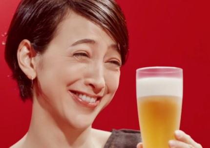 滝川クリステル(41)、小泉進次郎との結婚で麒麟「本麒麟」CM差し替えへ … 「妊娠中・授乳期の飲酒はやめましょう」とテロップが入っており、滝川の妊娠に対する配慮