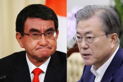 河野外務大臣「文在寅大統領は日本に対話と協力を呼びかける前に国際法違反の状態を是正すべき」→ 韓国政府「一国の外交当局者ごときが国家元首に対して措置を要求する事は、無礼だ」と反発