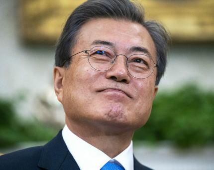 前回2分で終了した米韓首脳会談に臨む文在寅大統領、今回は「トランプ大統領が最も喜ぶプレゼント」を用意し会談へ