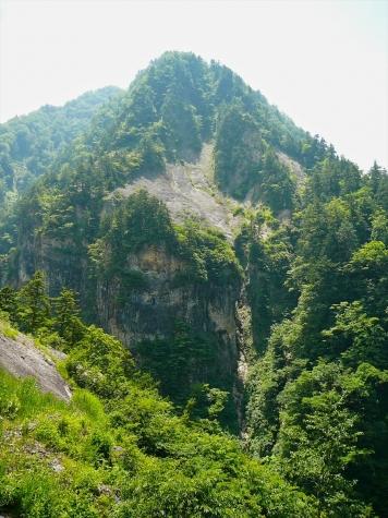 アバランチシュート【白山スーパー林道】