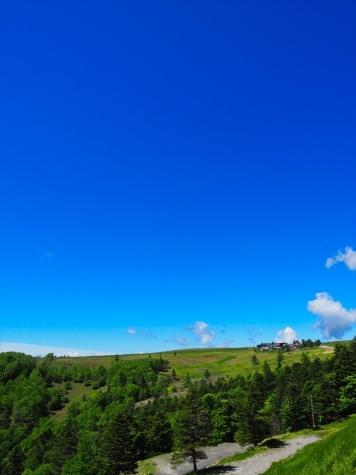 美ヶ原と青空