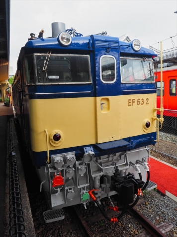 電気機関車 EF63 2【軽井沢駅】