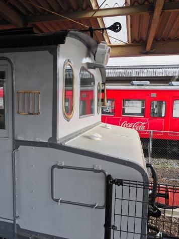 電気機関車 EC40 1【軽井沢駅】