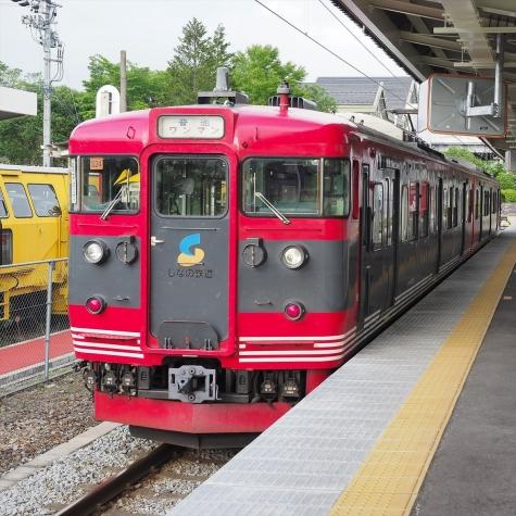 しなの鉄道 115系 電車【軽井沢駅】