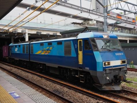 JR貨物 電気機関車 EH200-9 【立川駅】