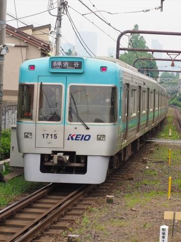 京王電鉄 井の頭線 1000系 電車 1715F【池ノ上駅】