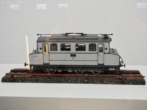 電気機関車 EC40 1の模型【鉄道博物館】