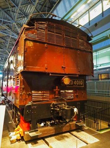 電気機関車 ED40 10【鉄道博物館】