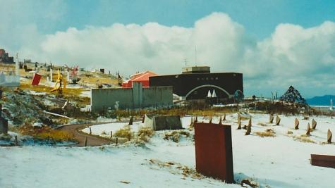 雪の美ヶ原高原美術館