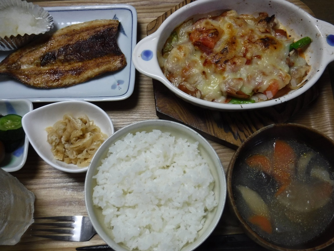 ブログ 夕食  何だっかね.jpg