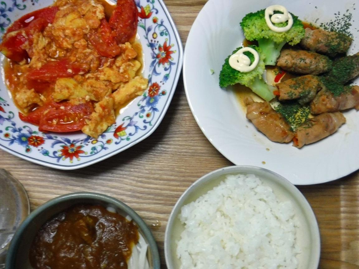 ブログ 夕食 チンポコ巻.jpg