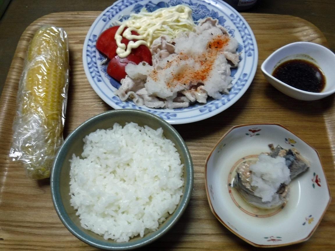 ブログ 夕食 豚肉のしゃぶしゃぶ.jpg