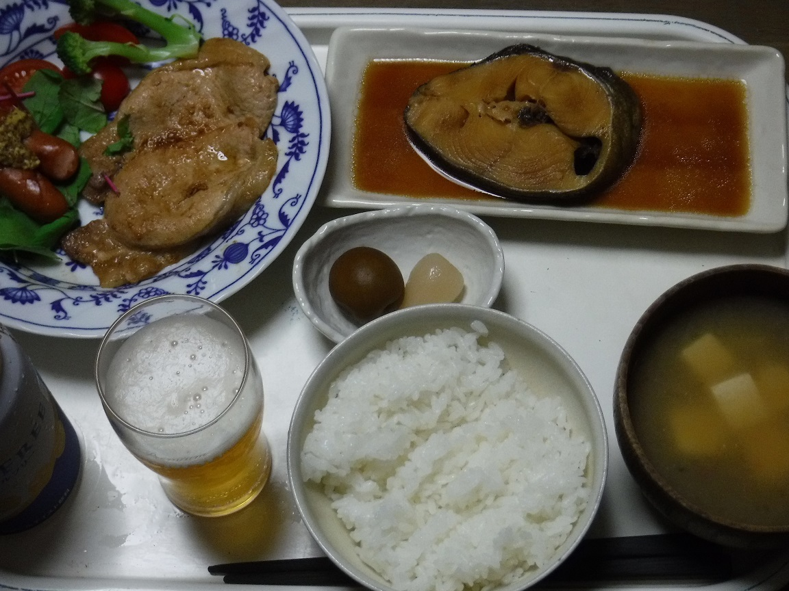 ブログ 夕食 煮魚定食.jpg