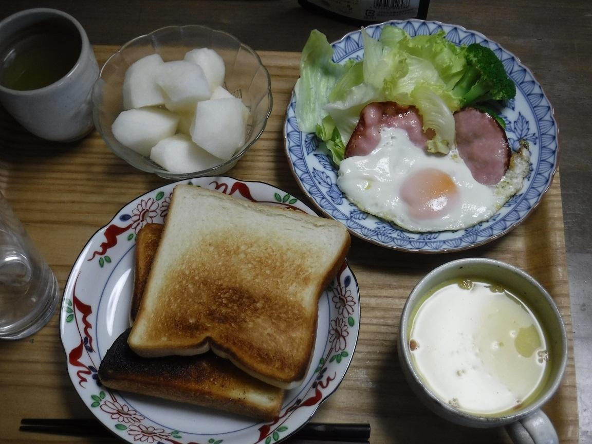 ブログ 朝 パン食は珍しい.jpg
