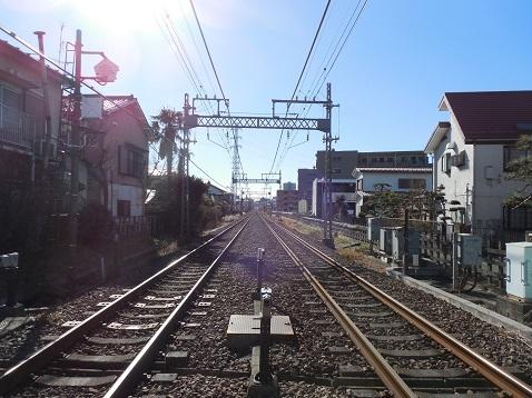 小田急江ノ島線の長後2号踏切@藤沢市e