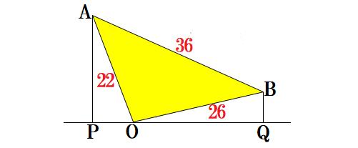 1319-垂線の長さ0