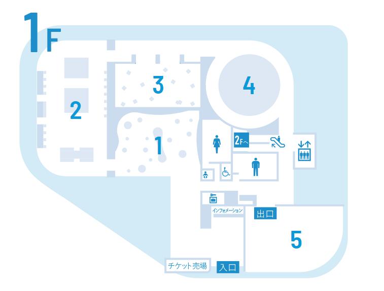 ニフレル1階のフロアマップ-min