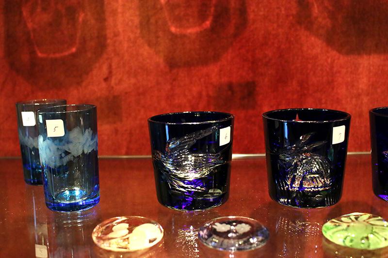 神谷麻理子 切子 グラス 箸置き はしおき 大田区 池上 パンタレイ pantarheicraft ガチャ
