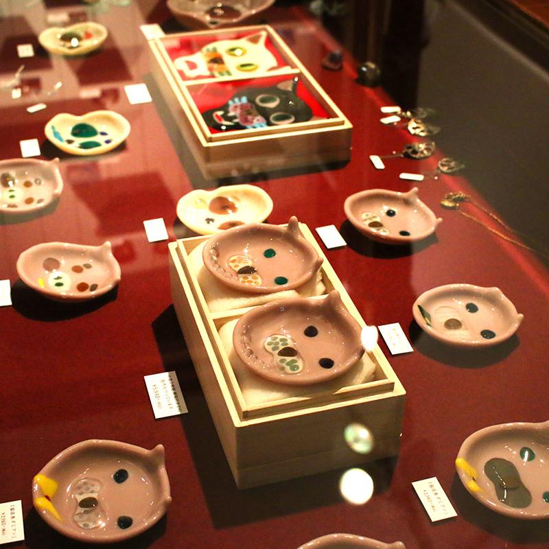 神谷麻理子 フュージング 皿 ダミアン 猫店長 大田区 池上 パンタレイ pantarheicraft ガラス