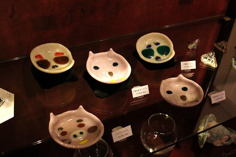 神谷麻理子 猫 ダミアン 髑髏 フュージング 大田区 池上 パンタレイ pantarheicraft ガラス