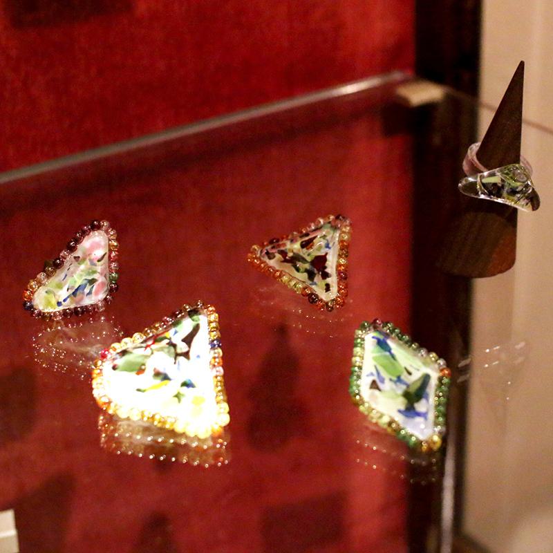 神谷麻理子 アクセサリー フュージング 大田区 池上 パンタレイ pantarheicraft ガラス