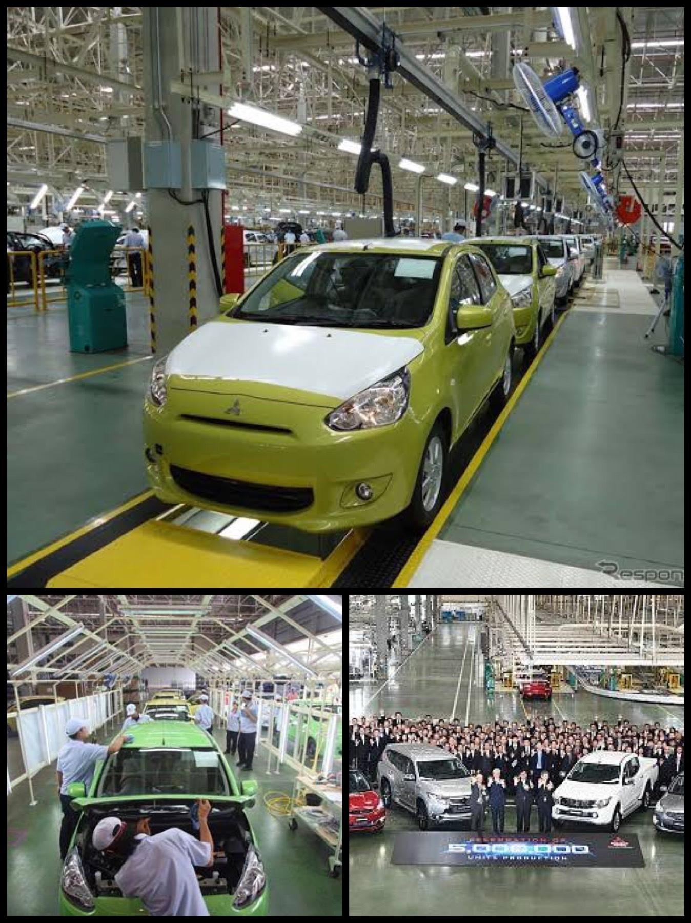 三菱自動車 レムチャバン工場